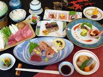【夕食一例・秋】秋の味覚もたっぷり使用した秋会席をお楽しみ下さい♪