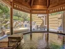 「甘露の湯」源泉は約85℃でこんこんと湧き出ております!