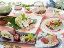 【ヘルシーコースお料理の一例】ヘルー志向の女性やシニアの方に人気のお料理です♪