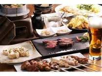 炭火焼鳥Ryoコース料理