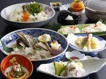 鱧すき鍋 (なごり鱧は9月末まで)