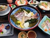 夕食 淡路島季節の美食会席