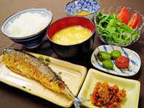 【朝食】栄養バランスの良い和定食☆