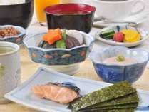 《選べる朝食一例》(和定食【ご飯おかわり無料】