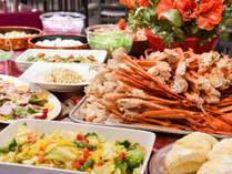 *ディナーバイキング例 空知をはじめとした道産食材使用、夕張ならではのメニューをお好きなだけ