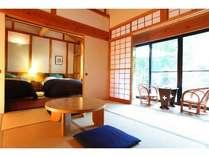 【伊万里】いかにも別荘を思わせるゆったりとした和洋室