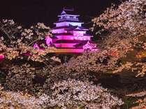 【桜】と【スキー場】どっちに行く?夜桜ライトアップを堪能してからゆっくりチェックイン!≪1泊朝食付≫