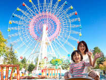 敷地内には軽井沢おもちゃ王国★園内循環バスもあるので敷地内移動も安心♪