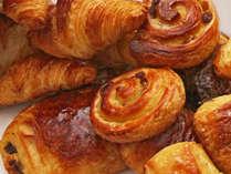 朝食例:パン