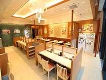 1階テナント「松のや」。朝定食のご利用はAM5:00~AM11:00まで。
