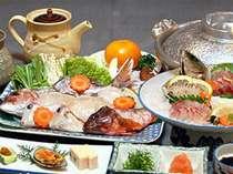 【冬限定】海の幸たっぷりお鍋+お造り盛り合わせ付♪得々プラン