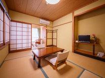 【由布岳が見える和室6畳】トイレ付き 3階