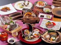 【当館オススメ★匠会席】選りすぐりの食材を使用した、プレミアムな会席です。