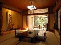 純和風の客室(一例)