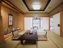 【客室一例】  *広々としたお部屋は、親子三世代でも十分にお寛ぎいただけます
