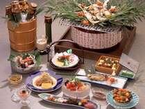 【会席料理】  *夏の会席料理一例