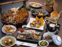 【会席料理】  *秋の会席料理一例