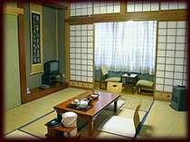 客室一例。ゆったりのんびりとお過ごし下さい。
