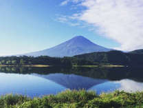 秋の富士山*