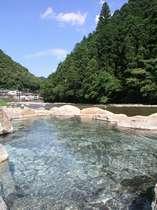 川原の露天風呂・