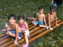 夏休み家族で川遊び・源泉かけ流し露天風呂でほっこり♪ファミリープラン