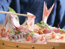 【地蟹2杯+舟盛り】「舟盛り付き地物活ガニコース」地ガニと地魚で丹後を満喫【平日2名料金UPなし】