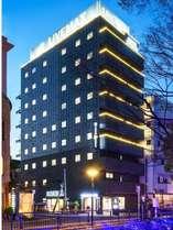 ◆外観(夜)◆ホテルリブマックス岡山