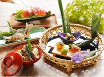 ・季節の会席【夏】料理の一例