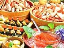 北海道フェア期間限定でウニ・イクラ・ズワイガニも食べ放題!※北海道産という事ではありません。