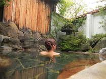 *啼子の湯*肌ざわりのよいお湯です。四季の風を感じながらご入浴下さい。