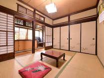 *自炊部和室6畳/電化製品(テレビ・冷暖房等)はおいてございません。昔ながらの風情を感じるお部屋。
