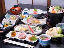 *お夕食一例(イメージ)/女将さんの温もりが感じられるお料理。