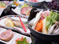 *お夕食一例(イメージ)/東北宮城ならではの味わい深いお料理をご賞味下さい。