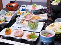 *お夕食一例(イメージ)/家庭的な手作り料理でお客様をおもてなし致します。