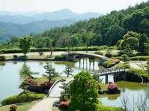 【日本庭園東林苑】広大な一万坪の庭園は自慢の景色です