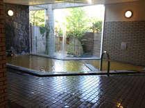 大浴場~自慢の源泉かけ流し100%です!