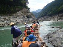 北山川の筏下り