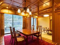 【露天風呂付特別客室「箱根遊山」】「宮ノ下」【明治時代の西洋文化をイメージしたお部屋です