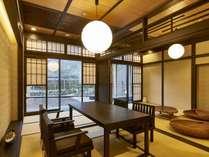 「芦ノ湖」【露天風呂付特別客室「箱根遊山」】和風の水上コテージをイメージしています