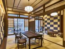 「小涌谷」【露天風呂付特別客室「箱根遊山」】大正時代のハイカラな雰囲気を感じるお部屋です