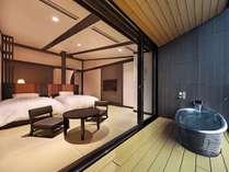 【最上階露天風呂付客室】一例