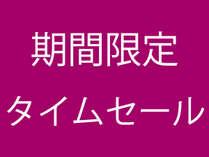【期間限定タイムセール!】