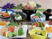 【 海鮮会席 】 ボリュームを抑えたお料理(イメージ)