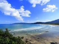 「大岐の浜」   当館より、お車にて約40分。サーフィンが有名!