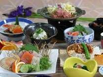 ◆【直前割】近海産!新鮮!海の幸の定番「海鮮会席」を料理自慢の宿で♪【夕朝食付】