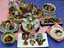 ◆【4月~6月限定!】4月1日解禁の貝料理と海鮮の「さくら会席」♪【夕朝食付】