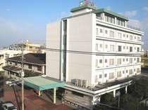 宮崎市街地のホテル浜荘