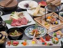 ~「美食の宝石箱」~季節毎の厳選食材をこだわりの調理法でお楽しみください。※写真は2017秋の一例