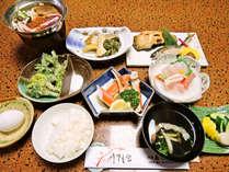 【当館一番人気☆2食付】山菜や川魚、季節の田舎料理で心づくしのおもてなし。