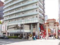 南京町に隣接、神戸を楽しむ絶好のロケーション!